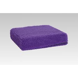 Licardo Sitzkissen Sitzkissen Sitzerhöhung Wolle lila 40/40/10 cm