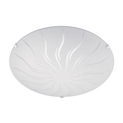 Trio Leuchten LED-Deckenleuchte Gemma, Sonne in weiß