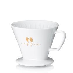 Kaffeefilter S Excelsa Porzellan weiß 10,5cm 12,0cmØ
