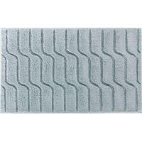Grund Badteppich, 100% Baumwolle, Grau, 100% Baumwolle, graugrün, 60 x 100 cm,