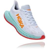 Hoka Carbon X 2 Schuhe Herren weiß/türkis US 8,5 | EU 42 2021 Laufschuhe