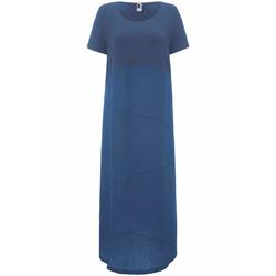 Abendkleid Kleid mit 1/2-Arm Anna Aura meerblau