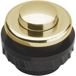 Grothe 62025 Klingeltaster 1fach Gold 24 V/1,5A
