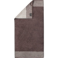 CAWÖ Luxury Home Two-Tone 590 Handtuch 50 x 100 cm pepper