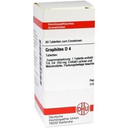 GRAPHITES D 4 Tabletten 80 St