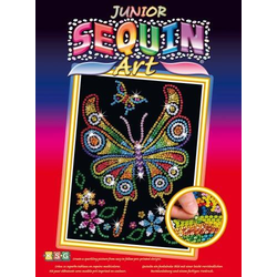Junior Sequin Art Schmetterling 1209