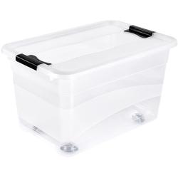 Aufbewahrungsbox »konrad« (Set, 2 Stück), Aufbewahrungsboxen, 35386229-0 farblos 39,5x59,5x35 cm farblos