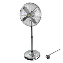 Metall Standventilator Ventilator Bodenventilator Ø 40 cm + 3 Geschwindigkeiten