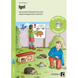 Igel als Buch von Klara Kirschbaum