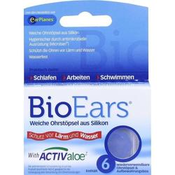 BioEars Antimikrobielle Silikon-Ohrstöpsel