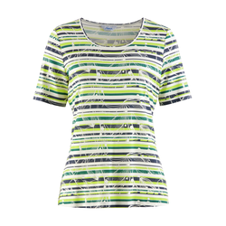 Avena Damen Aloe vera-Shirt Sommerfrische Gelb 44