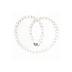 Bella Carina Perlenkette Bergkristall 8 mm, mit Bergkristall 55