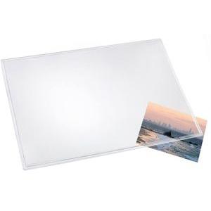 Läufer Schreibunterlage 43700 Durella, transparent, Kunststoff, blanko, 70 x 50cm