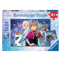 Ravensburger Puzzle Frozen - Nordlichter, 48 Puzzleteile bunt