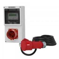 Einbaustecker 32A Mobiler Stromzähler MID 5x4mm2 Doktorvolt 4333