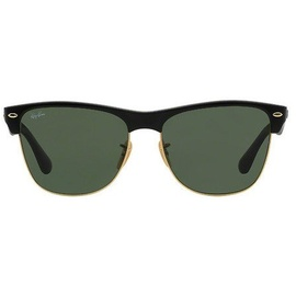 Ray Ban Clubmaster Oversized RB4175 black-gold / green classic