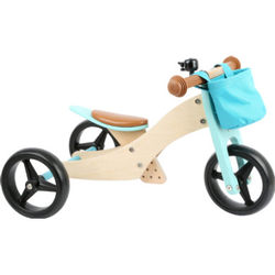 small foot® Laufrad-Trike 2 in 1 Türkis