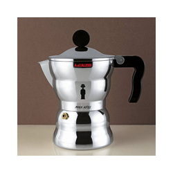 Alessi Espressokocher Espressokocher MOKA Classic 3, 0.15l Kaffeekanne