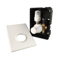 HoWaTech Regelbox TH-RTL UP | RTL-Ventil mit Thermostat für Warmwasser Fußbodenheizung