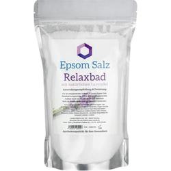 Epsom Salz Relaxbad mit Lavendel
