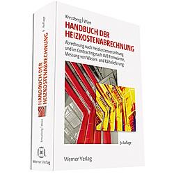 Handbuch der Heizkostenabrechnung - Buch