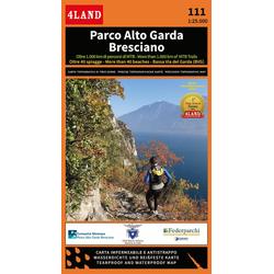 Parco Alto Garda Bresciano 1:25 000