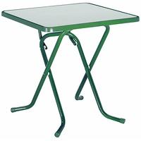 BEST Freizeitmöbel Primo Klapptisch 67 x 67 cm grün