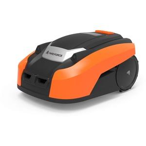 YARD FORCE Mähroboter X80i bis zu 800 qm - Selbstfahrender Rasenmäher Roboter mit WLAN-Verbindung, App-Steuerung, iRadar Ultraschallsensor, Kantenschneide-Funktion und Multizonenprogrammierung