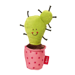 Sigikid Kuscheltier-Rassel Red Stars Kaktus ab 0 Monaten 41435