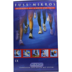 MIKROS Fußbandage NV Gr. M