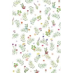 Plaid 4136, fleuresse, Florale Streifzüge