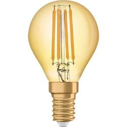 OSRAM LED EEK A+ (A++ - E) E14 Tropfenform 4.50W = 36W Warmweiß (Ø x L) 45mm x 45mm 1St.