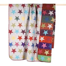 Wohndecke Stars, PAD, mit bunten Sternen