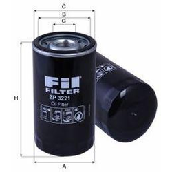 Ölfilter- Baumaschine - HITACHI - ZX 670-5 (Mot.: ISUZU  - )
