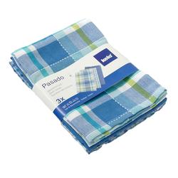 Kela Geschirrtücher Pasado blau 3er Set , 100% Baumwolle