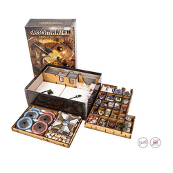 e-Raptor Spiel, e-Raptor Sortiereinsatz für Gloomhaven - Jaw of