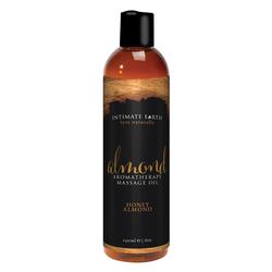 Intimate Earth - Honey Almond Massage Oil (240ml)