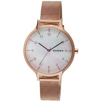 Skagen Anita Mother of Pearl Steel-Mesh