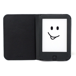Gecko Covers Tablettasche Tolino Shine 2 HD Cover Luxe schwarz
