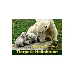 Tierpark Hellabrunn - Münchner Favoriten (Wandkalender 2021 DIN A4 quer)