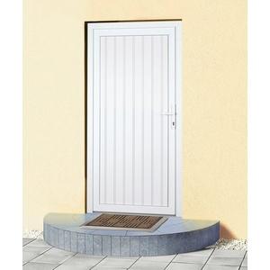 KM Zaun Haustür K608P, BxH: 88x188 cm, weiß, in 2 Varianten