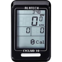 Alatech Cyclaid 10 Fahrradcomputer, kabellos Bluetooth