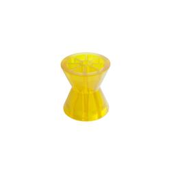 KNOTT Kielrolle aus Polyvinyl, in gelb, für Anhänger