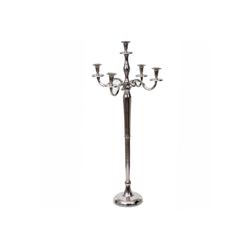MCW Kerzenleuchter MCW-D81-100, Massiv, Mit stabilem Standfuß, Tropfschutz für Kerzenwachs