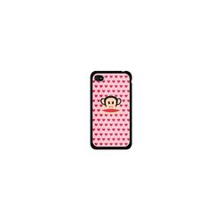 Paul Frank Handytasche Multi Hearts Julius iPhone4 2Piece Pink
