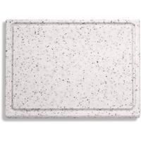 F DICK F. DICK Schneidbrett, Saftrille (Kunststoffschneidbrett, marmoriert, 265x325x18 mm, beidseitig verwendbar, HACCP) 91265000-90