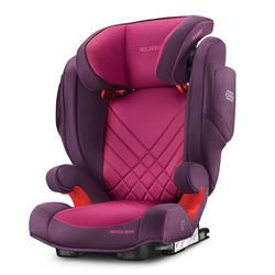 RECARO Autokindersitz Monza Nova 2 Seatfix - Core - Power Berry, 6.8 kg, (2-tlg), Kinder Autositz - ab 3,5 - 12 Jahre (95 -150 cm)