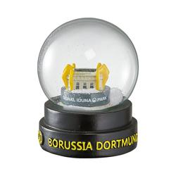 Borussia Dortmund Weihnachtsbaumkugel BVB-Schneekugel Stadion