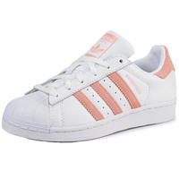 adidas Superstar cloud white/glow pink/core black 40
