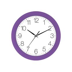 EUROTIME Wanduhr Trend violett, 88800-21-1